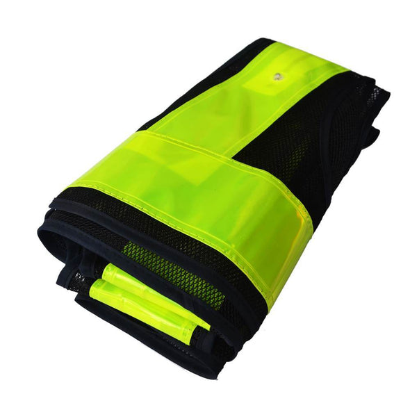 16 LED Light Up Reflective Vest Safety Outdoor