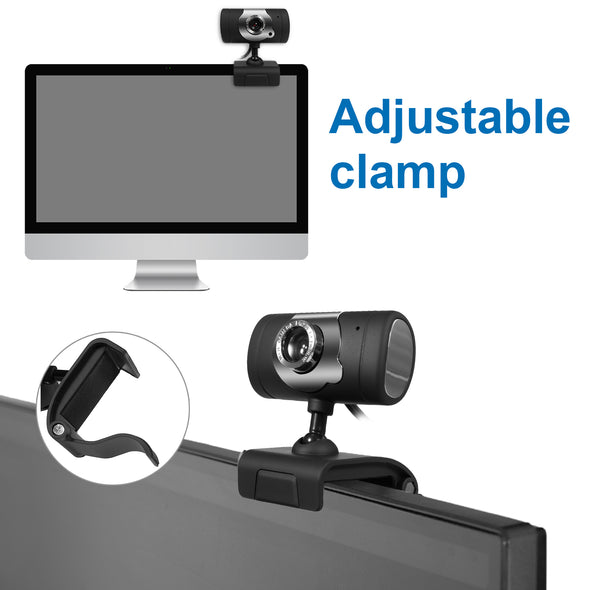 USB Webcam HD 480P with Mic