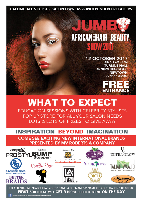Ampro + South Africa Hair Show =Yassss!!