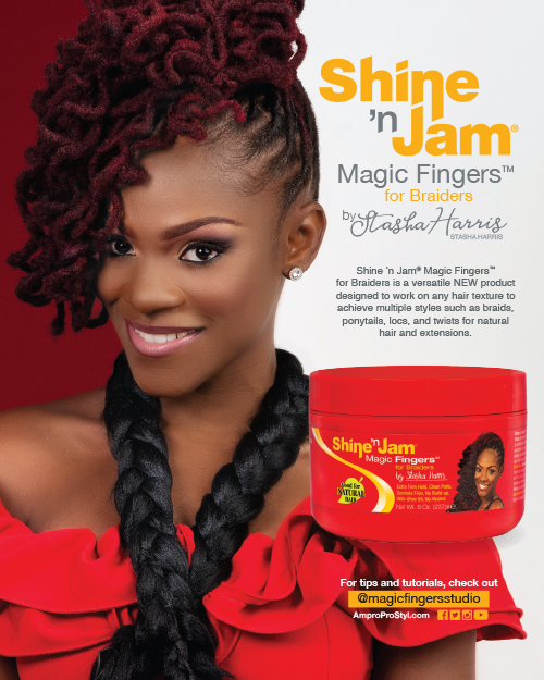 Introducing: Shine 'n Jam® Magic Fingers® for Braiders!