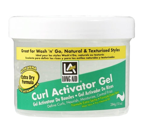 Long Aid® Curl Activator Gel | Extra Dry Formula