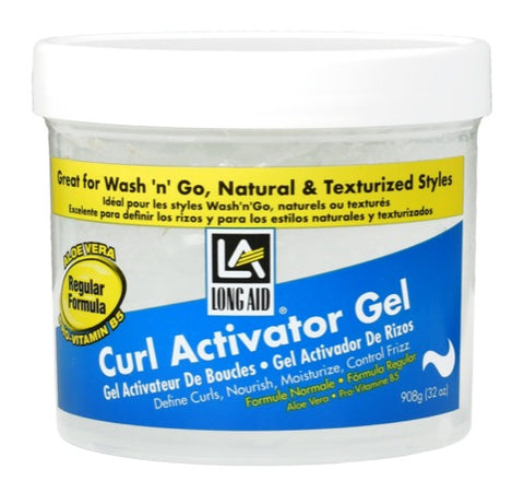 Long Aid® Curl Activator Gel | Regular Formula