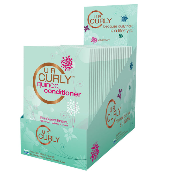 U R Curly® Quinoa Conditioner Packets