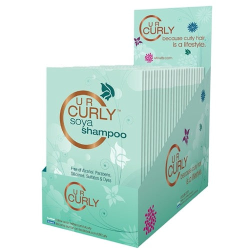 U R Curly® Soya Shampoo Packets