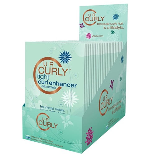 U R Curly® Tight Curl Enhancer Packets