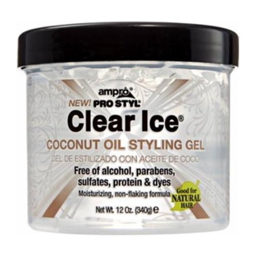 Clear Ice® | Coconut Oil Styling Gel