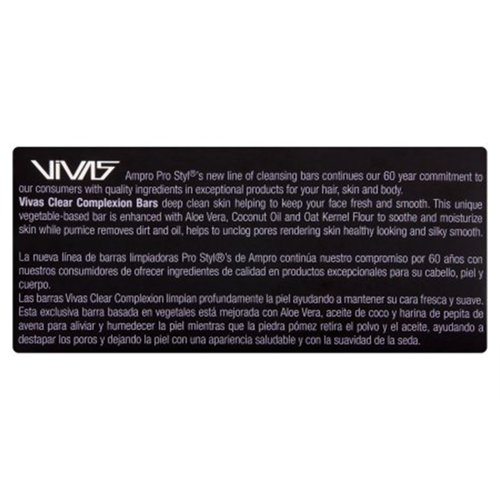 VIVAS® Clear Complexion Bar