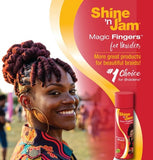 Shine 'n Jam® Magic Fingers™ Finishing Sheen for Braiders