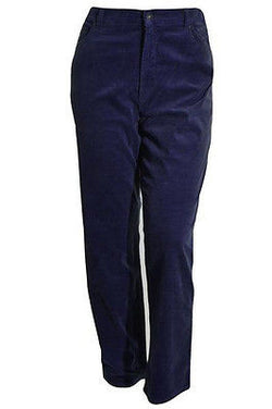 Gloria Vanderbilt Women's Classic Fit Amanda Tapered Corduroy Pants - Night Watch