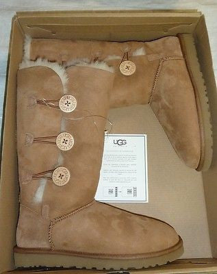 9852fae1a9d UGG Australia Womens Bailey Button Triplet II Boot - Chestnut