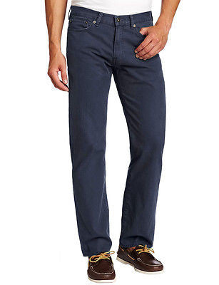 Dockers Men's Pacific Straight Leg Pants 952430025 Navy Pincord