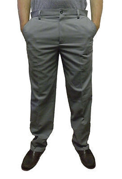 Dockers Men's D3 Comfort Khaki Flat Front Pants 9942690009 Gray