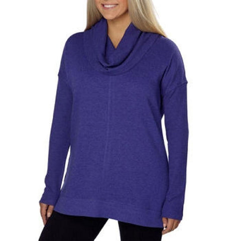 Marc New York Ladies Fleece Cowl Neck Tunic