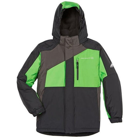 Free Country Boys Extreme Performance Jacket - Gray/Green