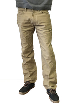 Dockers Men's 5-Pocket Straight Fit Pincord Khaki Pants 952430027