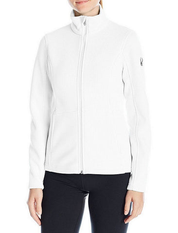 Spyder Womens Endure Full Zip Stryke Fleece Jacket - White