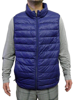 Hawke & Co. Men's Premium Down Packable Vest - Medieval Blue
