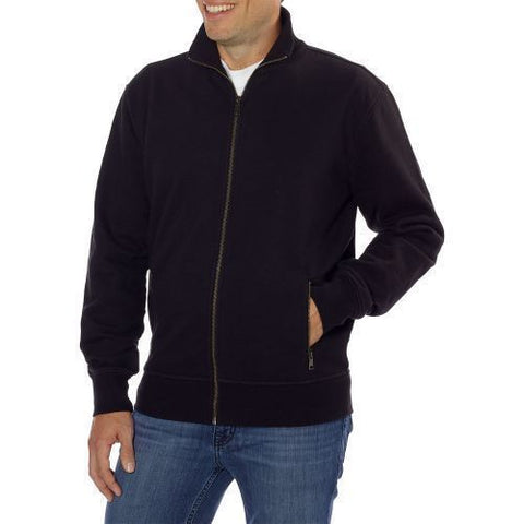 Kirkland Signature Men's Full Zip Sweatshirt - Black