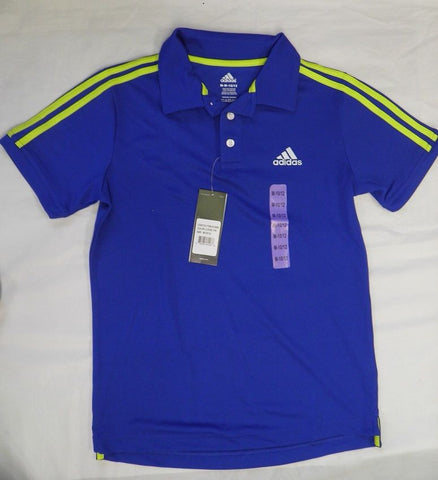 Adidas Boys Performance Polo Tee Shirt Various Colors