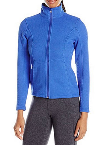 Spyder Womens Endure Full Zip Mid Weight Stryke Fleece Jacket - Bling