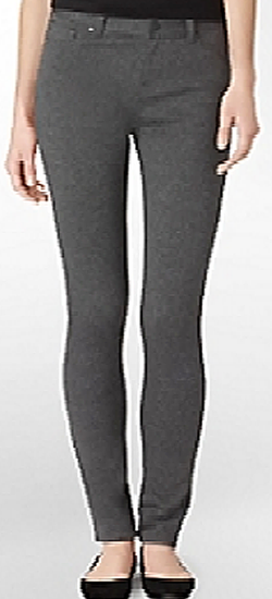 Calvin Klein Women's Stretch Leggings WF30B06C - Charcoal Heather