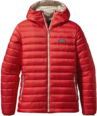 Patagonia Men's Down Sweater Hooded Jacket - Cochineal Red