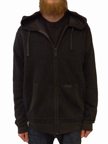 Trinity Collective Men's Valencia Full Zip Hoodie Black