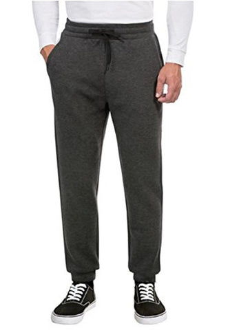 Weatherproof 32 Degrees Heat Men's Tech Fleece Performance Pants - Black