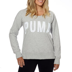 Puma womens Long sleeve Crew Neck Active Sweatshirt