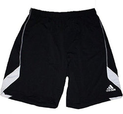 Adidas Men's Athletic Shorts - Black/White Size Medium