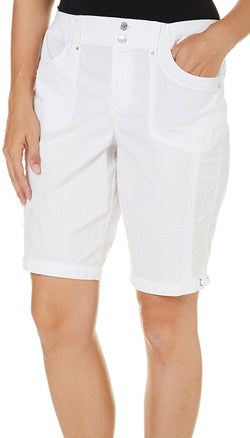 Gloria Vanderbilt Ladies' Beverly Bermuda Short - Prism White