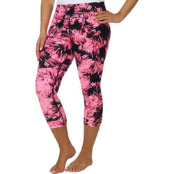 Marc New York Andrew Marc Womens Athletic Crop Yoga Pant - Pink