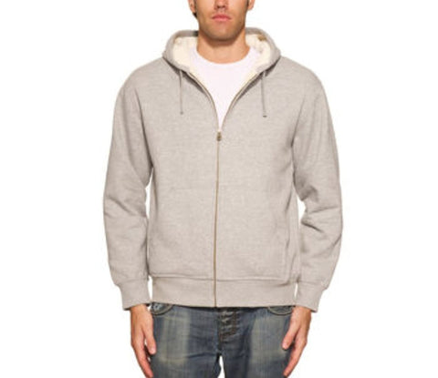 Weatherproof® Vintage Men's Full Zip Sueded Fleece Hoodie