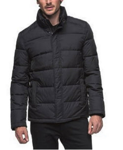Andrew Marc Men's Full Zip Puffer Jacket - Black