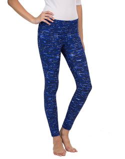 32 Degrees Weatherproof® Ladies' Active Yoga Legging - Blue Gentle Wave