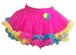 Jona Michelle Girls Bright Pink Pastel Tutu
