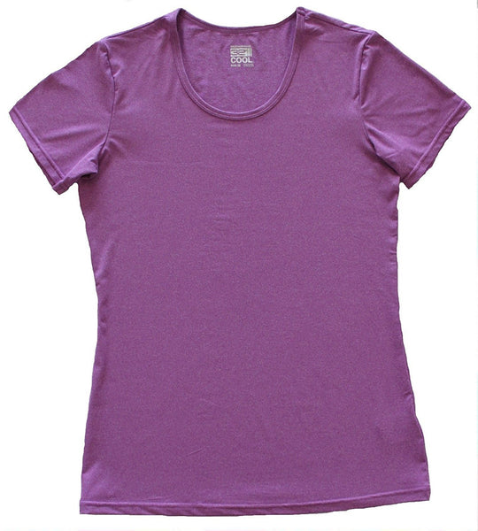32 Degrees Weatherproof Women's Short Sleeve Scoop Neck Cool Tee