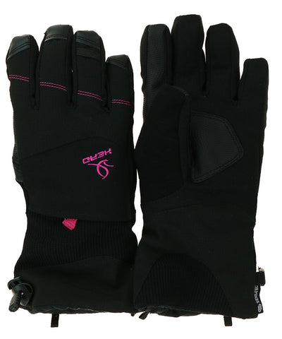 Head Ladies Ski Gloves with Zipper Pocket