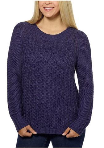 Calvin Klein Jeans Ladies Crew Neck Sweater - Patriot Blue