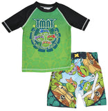 Superheroes Boys 2 Piece Swim UV protection - Ninja Turtles, 2T