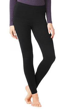 32 Degrees Heat Weatherproof Womens Base Layer Thermal Leggings - Black