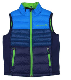 Free Country Boys Power Down Vest - Blue