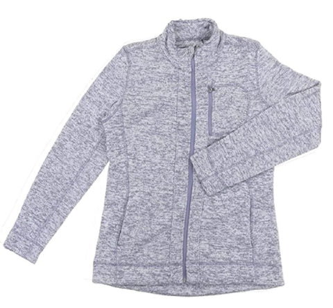 Andrew Marc New York Women's Performance Fleece Lined Knit Jacket - Lavender