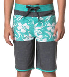 Hang Ten Boys' Youth Boardshort - Bright Aqua