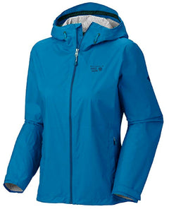 Mountain Hardwear Womens Plasmic Jacket - Bay Blue