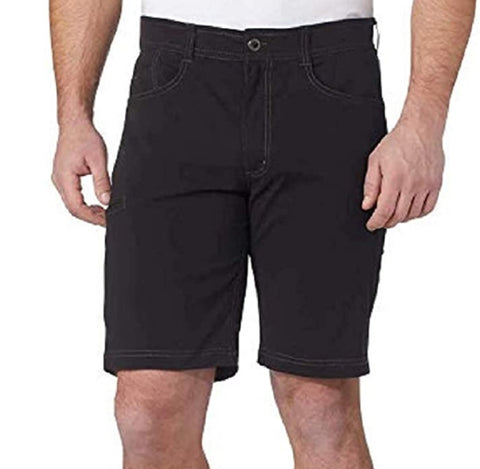 Hawke & Co Men's Viking Stretch Fabric Short - Black