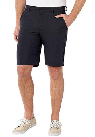 Greg Norman Mens Ultimate Travel Luxury Performance Shorts -Black