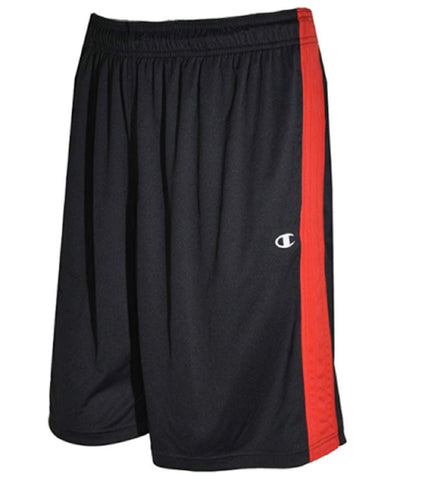 Champion Elite Men's Basketball Shorts - Black/Red