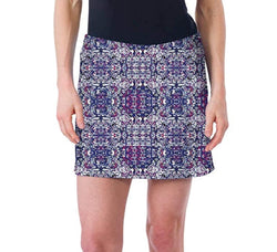 Colorado Clothing Women's Tranquility Skort - Blue Tapestry