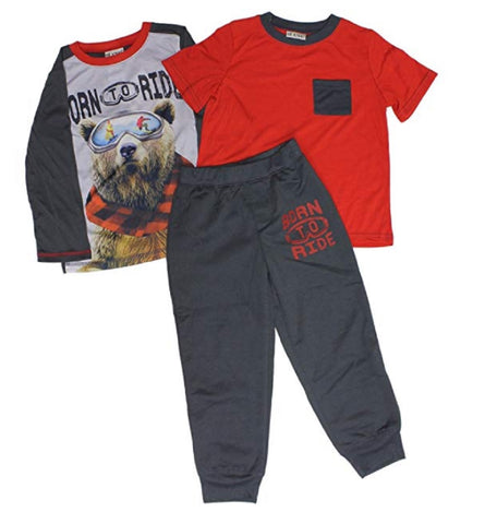 St. Eve Boys' 3-piece Sleep Set - Born to Ride